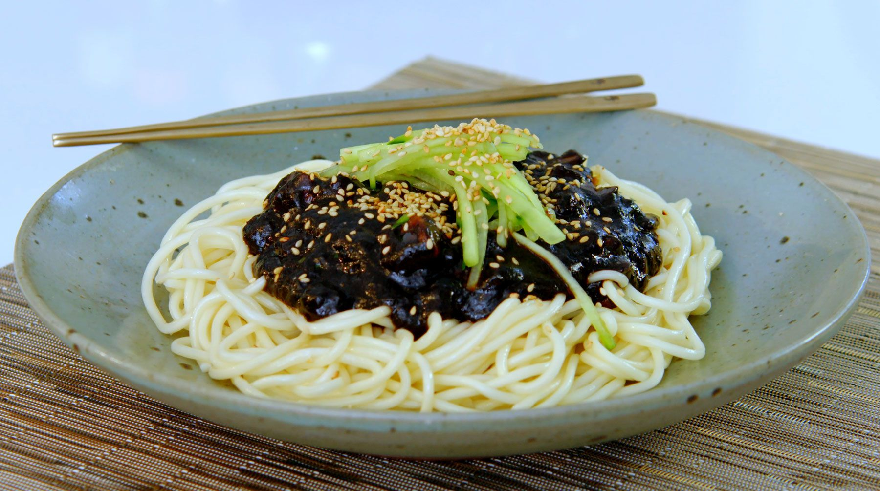 Get this quick and easy noodle recipe by judy joo from korean food get this quick and easy noodle recipe by judy joo from korean food made simple 2 forumfinder Gallery