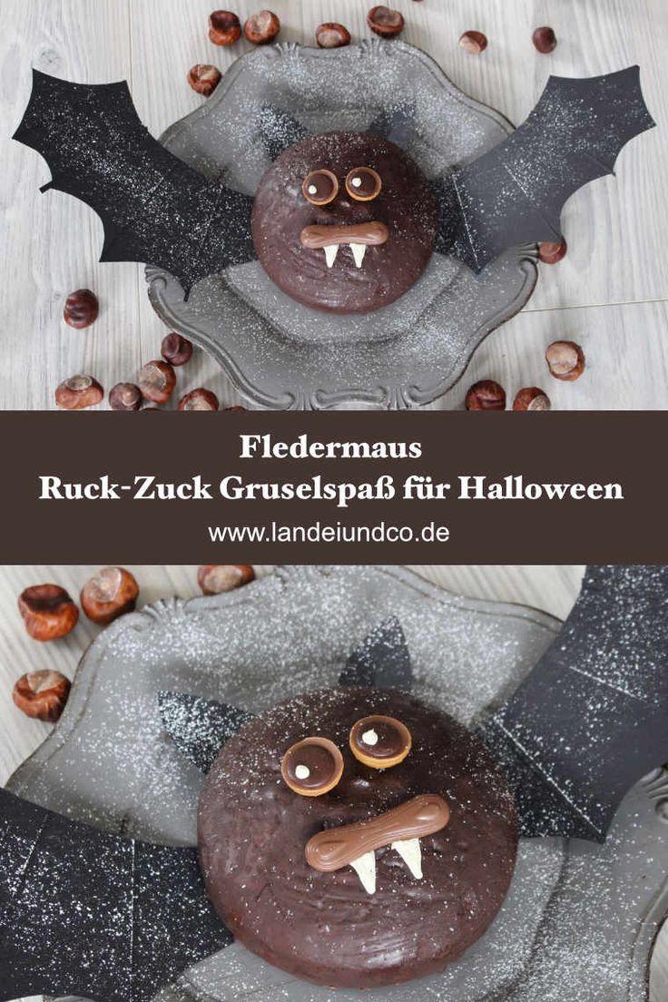 Eine Fledermaus für Halloween - landeiundco.de