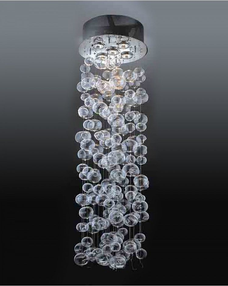 Wakanda Contemporary Clear Hollow Glass Bubble Balls Suspended – Chandelier Glass Balls