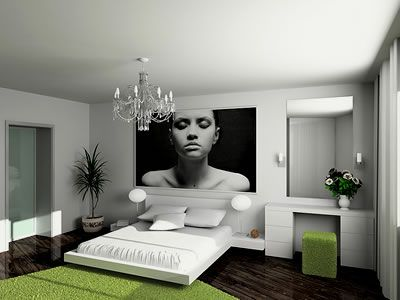 modern rooms with rembrandt painting on wall | modern master