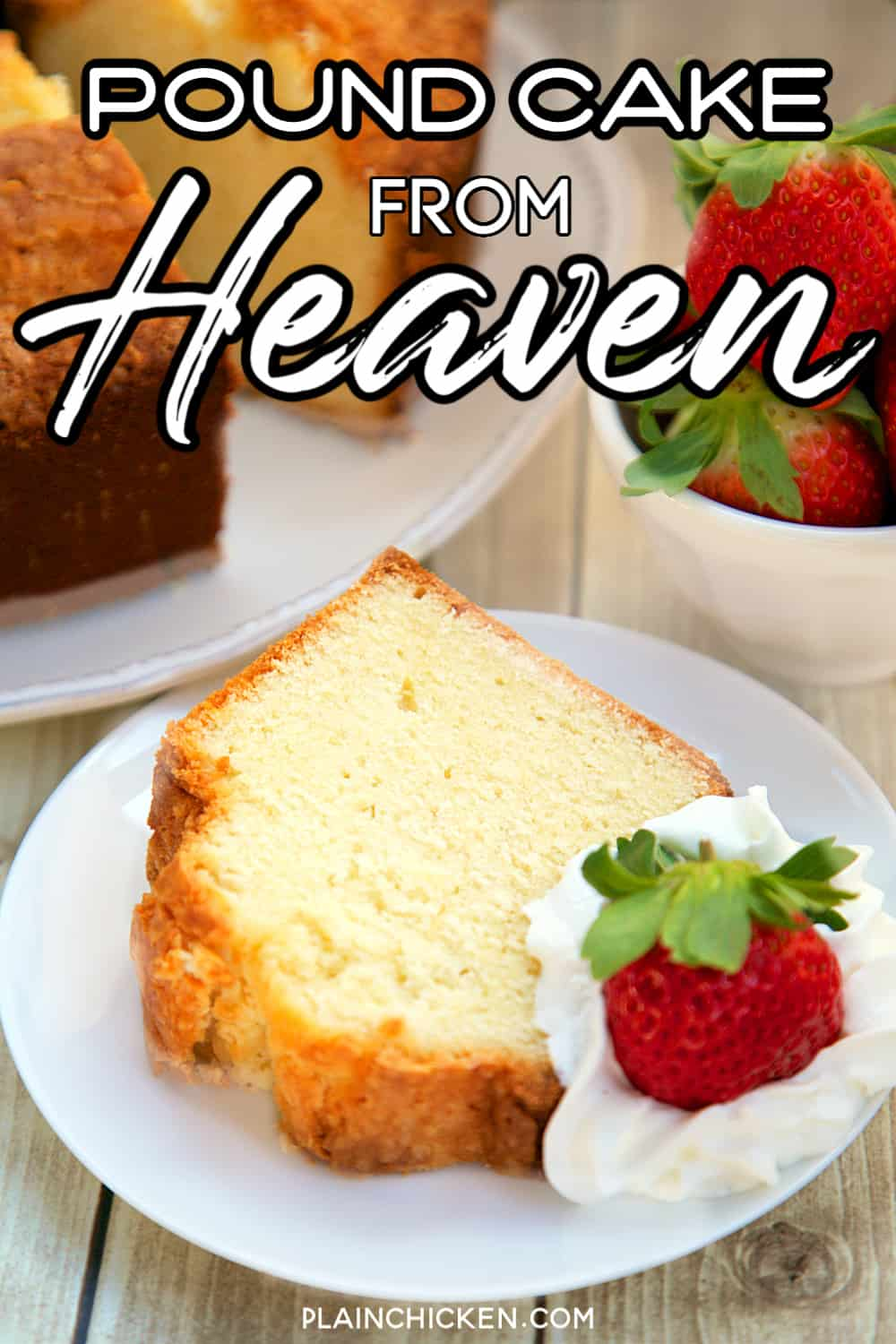 Perfect Pound Cake • Must Love Home