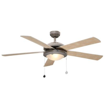 Westinghouse comet 52 in indoor brushed pewter ceiling fan brushed pewter ceiling fan 7813665 the home depot 12140 mozeypictures Choice Image