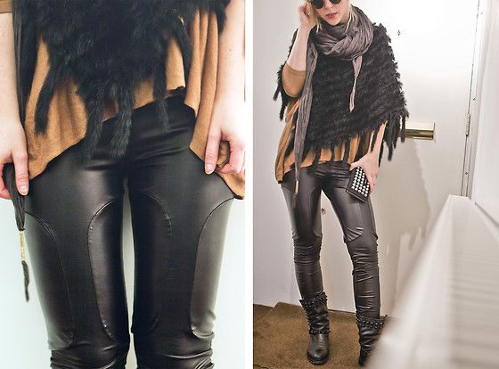6325555cbd42 the pants are cool, yeah...but I like the layered look of the poncho, top,  scarf...now that is very boho