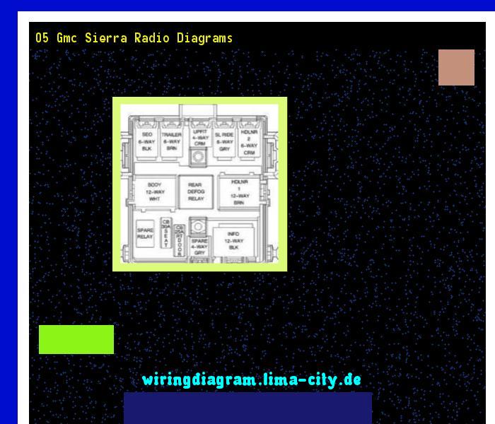 05 gmc sierra radio diagrams. Wiring Diagram 17496