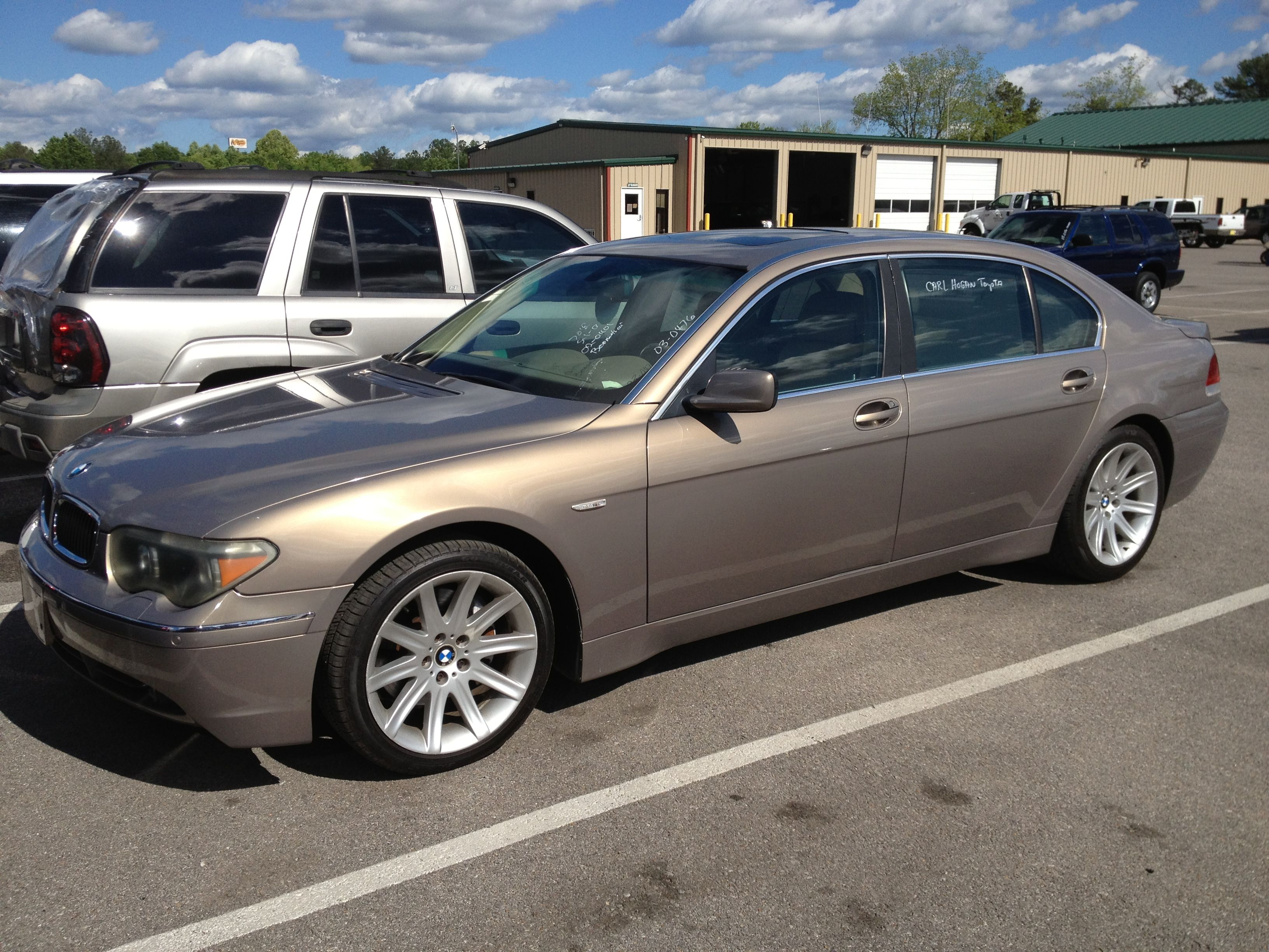 My 2002 BMW 7 series 745LI ... Beautiful car.. For Sale by Boonetrail  Autohaus.. 704-517-8801....Terry Mckinney.