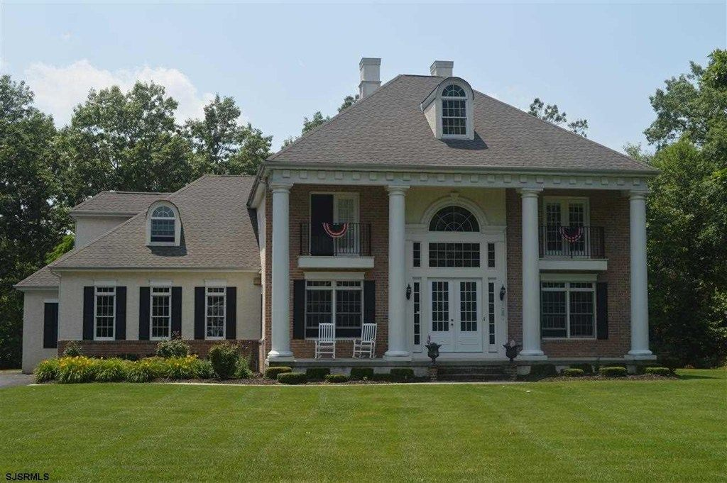 Beautiful Southern Georgian Style Home Big Front Porch To