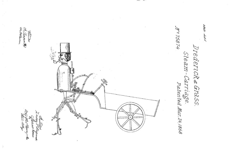 Deddrick Steam Man Schematics