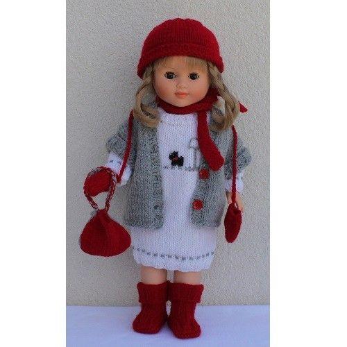 ensemble canada poupee crochet hats fashion et crochet. Black Bedroom Furniture Sets. Home Design Ideas