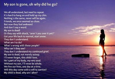 21 Death Of A Son Quotes To Remember Your Angelic Child Enkiquotes