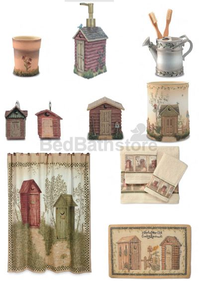 Outhouse Bathroom Decor By Linda Spivey Outhouse Bathroom Outhouse Bathroom Decor Primitive Bathrooms