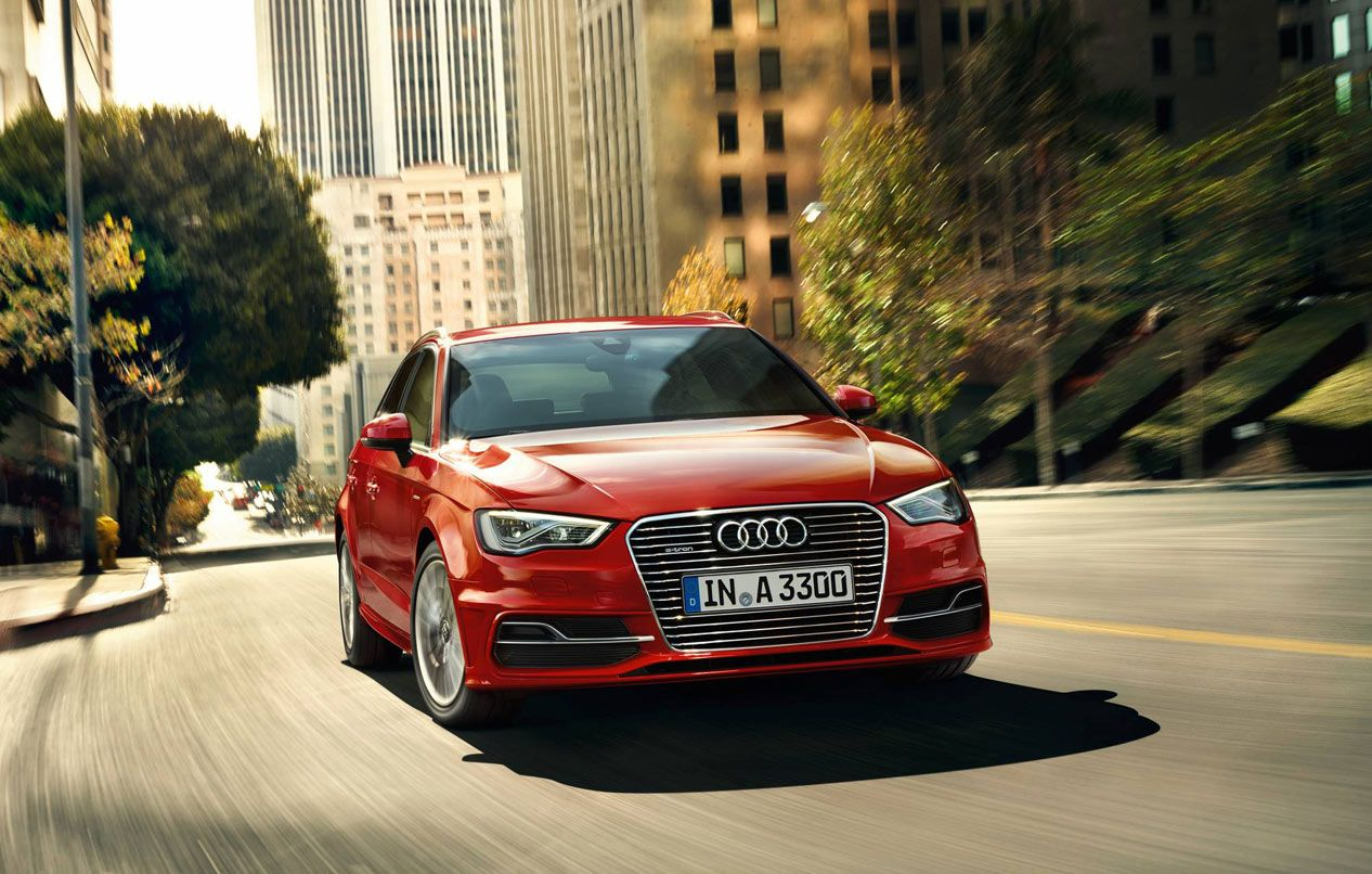 Audi A3 E-tron has been named one of the 10 best plug-in hybrids on sale today! image source: audi.co.uk