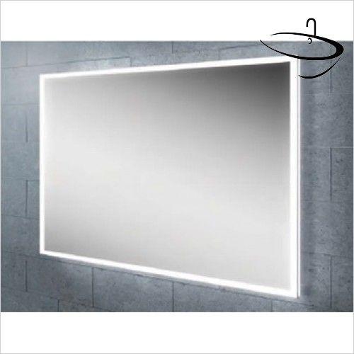 Bathroom Mirrors 1000Mm X 800Mm hib bathroom mirrors - globe 60 mirror 80 x 60 x 4.5cm | hib