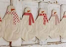 snowman table runner pattern - Bing Images