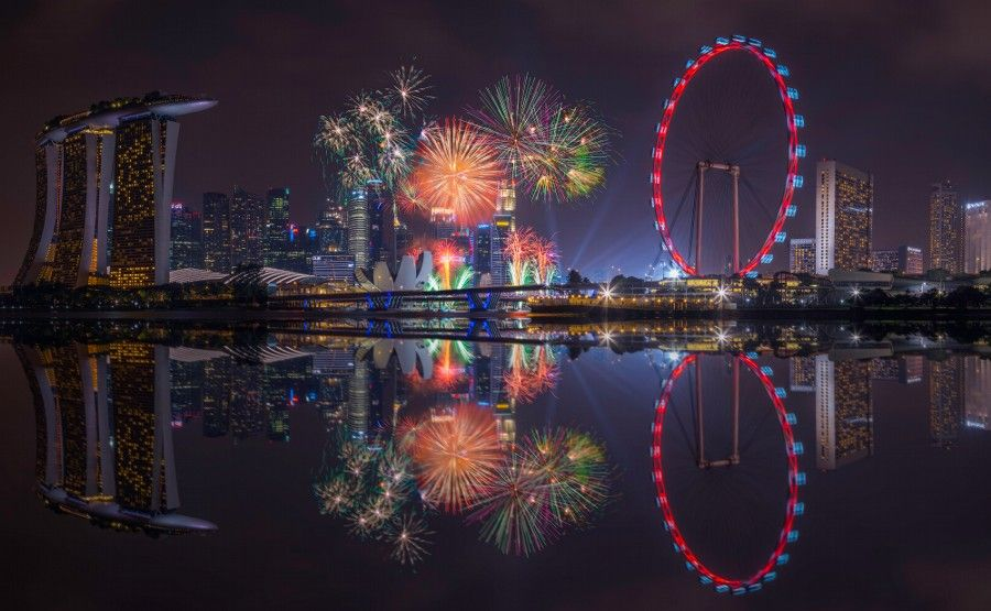 photo ndp fireworks view from garden by the bay by senthil kumar damodaran on 500px