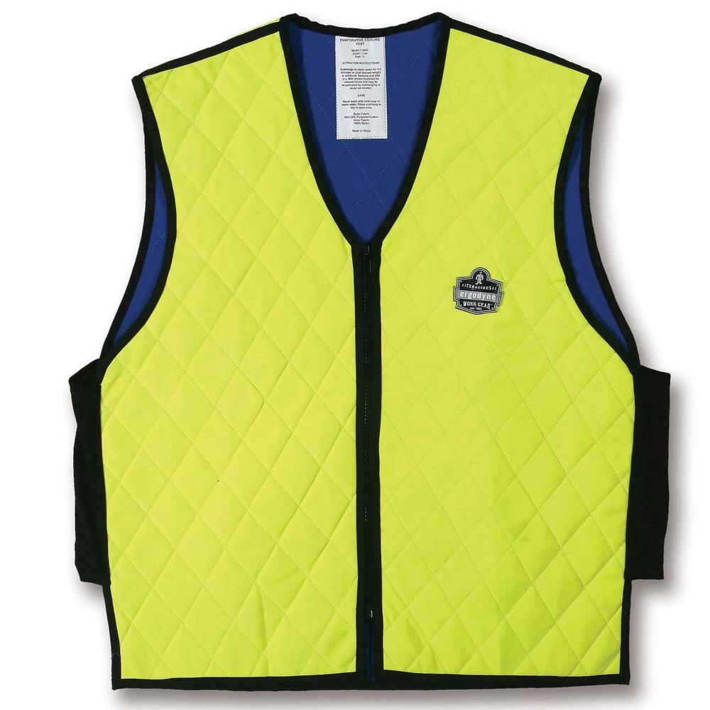 Ergodyne Chill Its 6665 3x Large Lime Evaporative Cooling Vest
