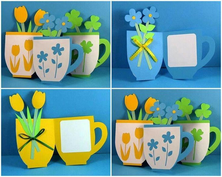 Teachers Day Card Making Ideas Part - 42: Pinterest Teachers Day Cards | ... Cups, Coffe Cups, Mothers, Mothers