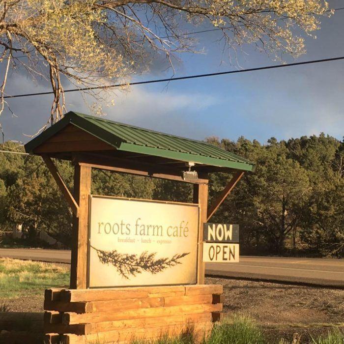 Roots Farm Café just opened in 2016. It serves breakfast