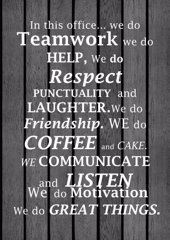 Inspirational Quotes Coworkers Value your coworkers! | Words to Live By | Work quotes, Teamwork  Inspirational Quotes Coworkers