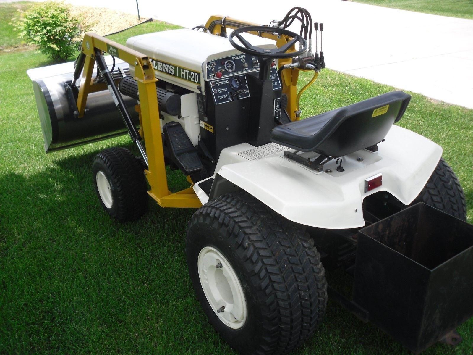 BOLENS HT-20 GARDEN TRACTOR WITH LOADER | eBay | Lawn Mowers