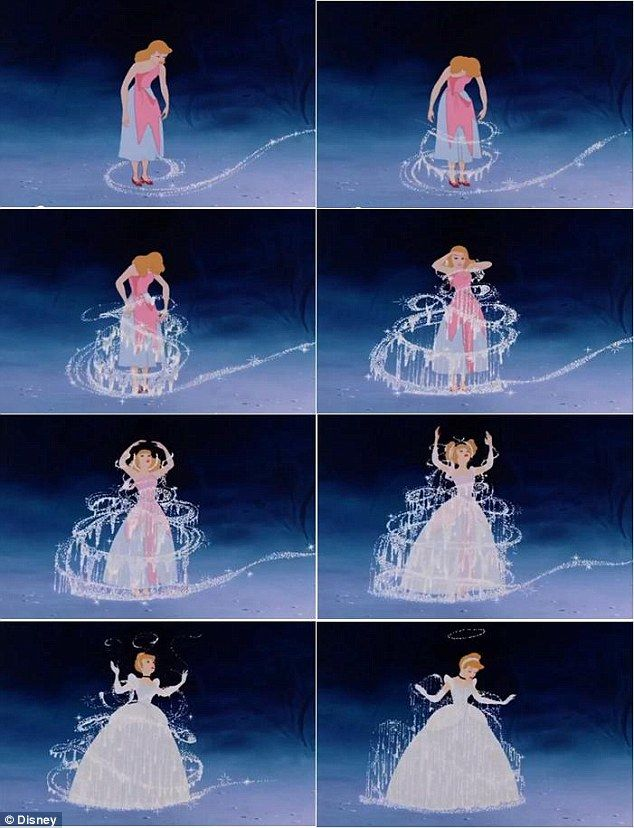 Image Result For Fairy Godmother Transforming Cinderella Disney Princess Cinderella Disney Disney