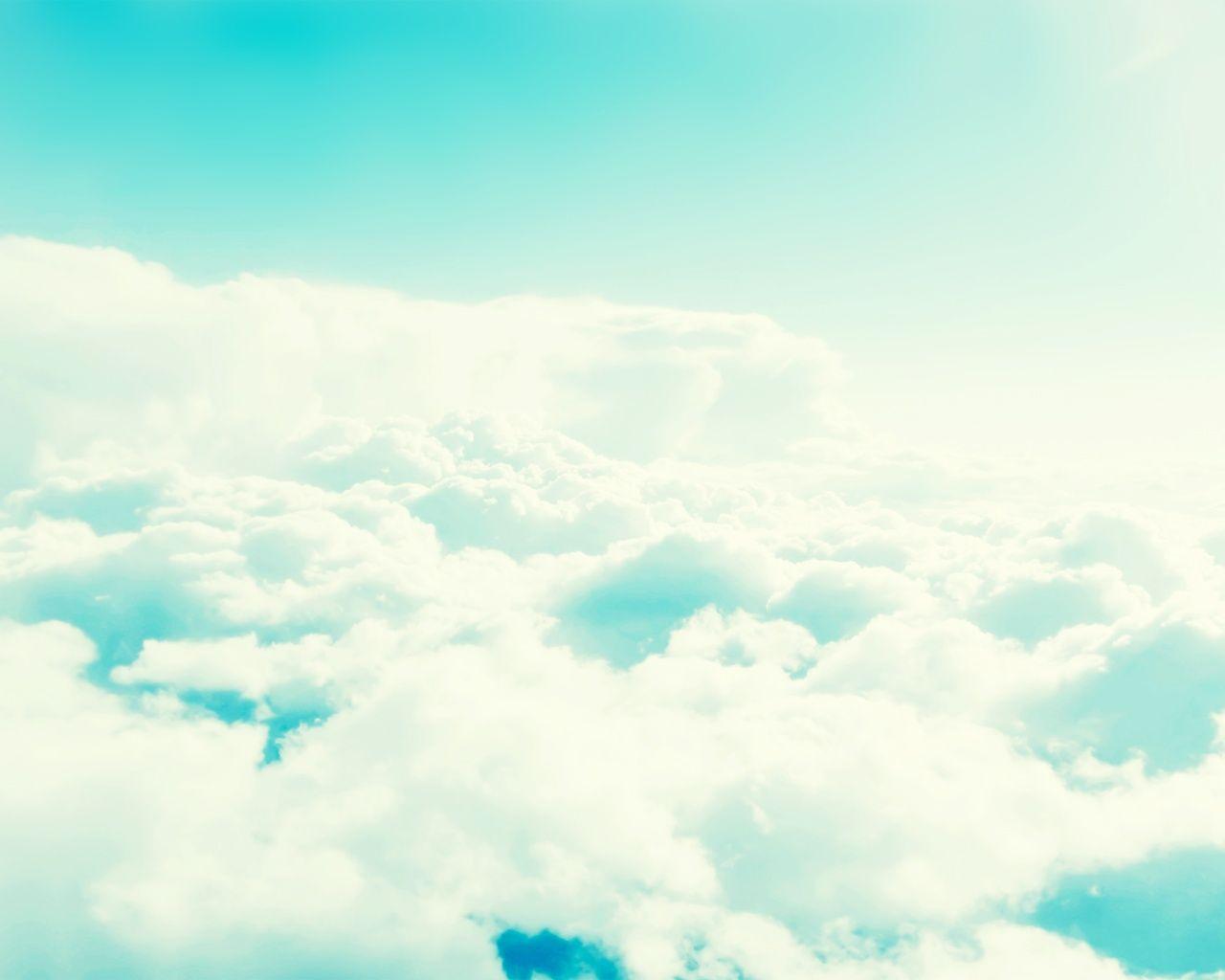Light Blue Cloudy Sky   The Sky of Lost Soul   Pinterest   Mac wallpaper