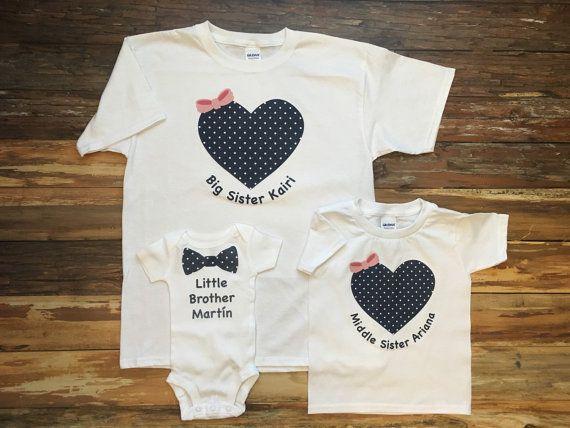 New Big Sister New Big Sister Baby Shower Gift Big Sister Baby Brother Outfits Big Sister Little Brother Shirts Silbling Shirt Deer