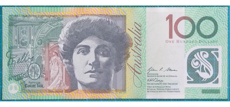 2008 Australia One Hundred Dollars Banknote Dg08 Bank Notes Dollar Banknote Currency Design