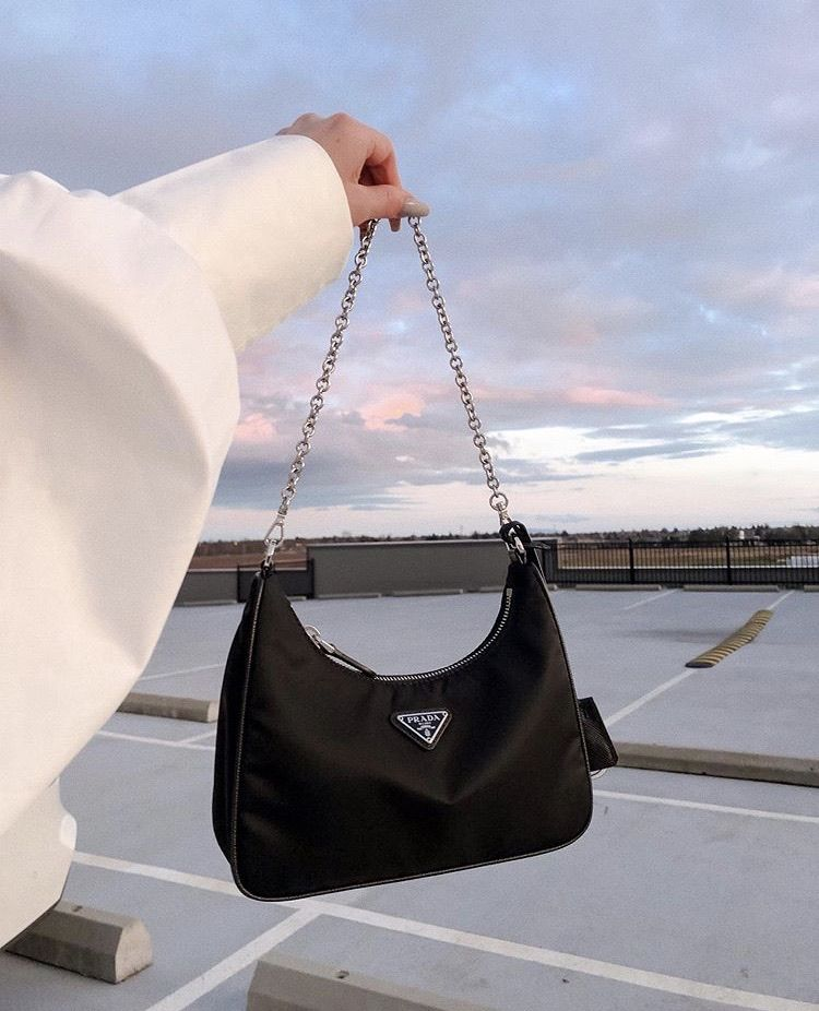 cotton candy skies and Prada 🍭🖤 on We Heart It