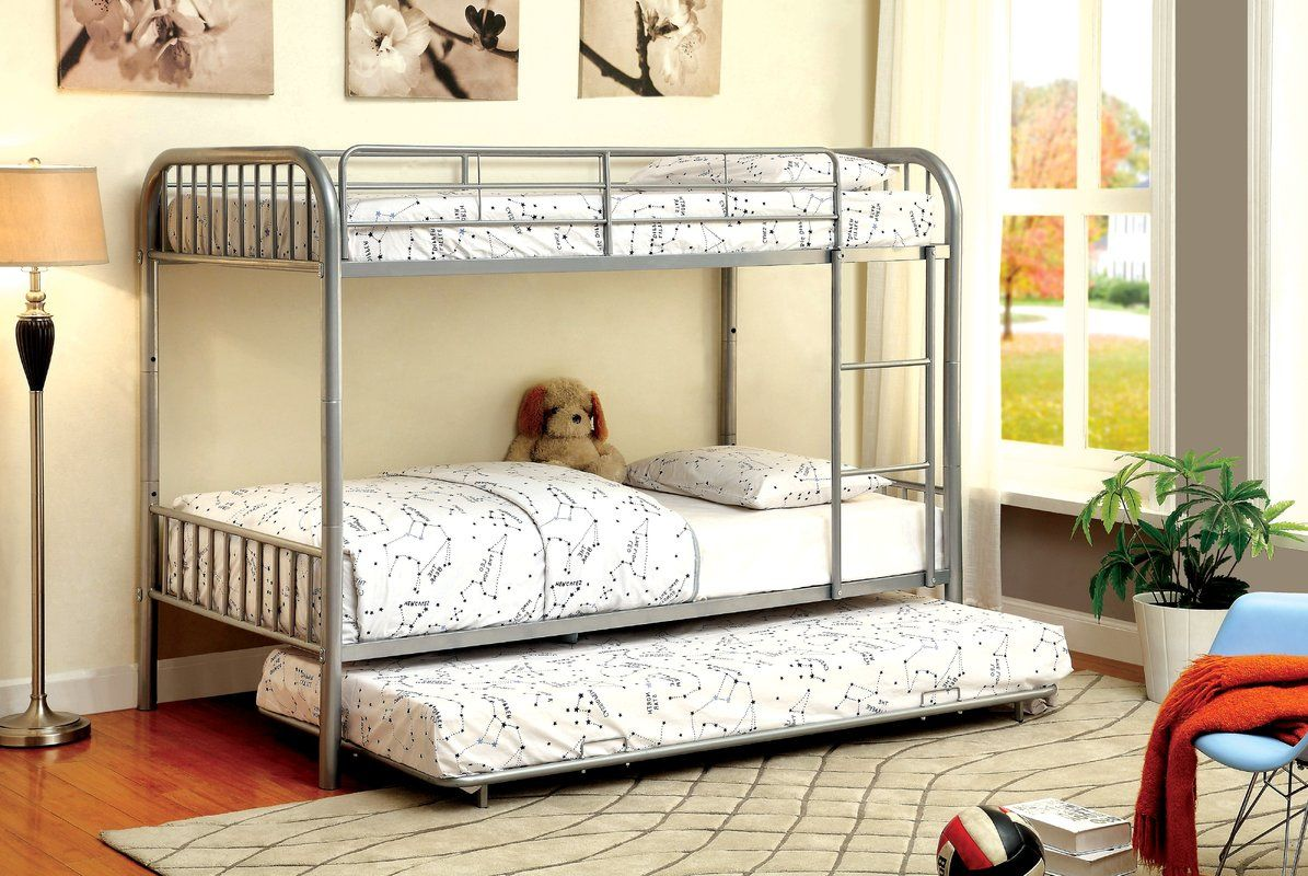 Pin by Leslie Gaines Ross on Bunks Bunk bed with trundle