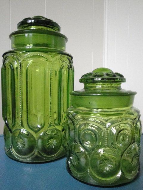 Delightful Glass Canister Set #Etsy