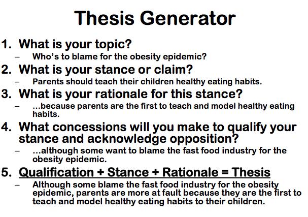 Causal analysis essay definition