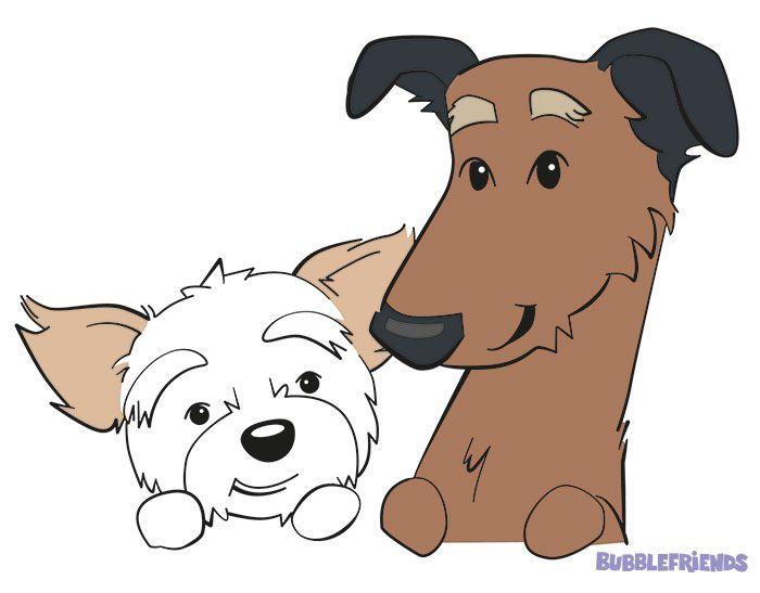 Das sind Ruby und Coco. Die stolzen