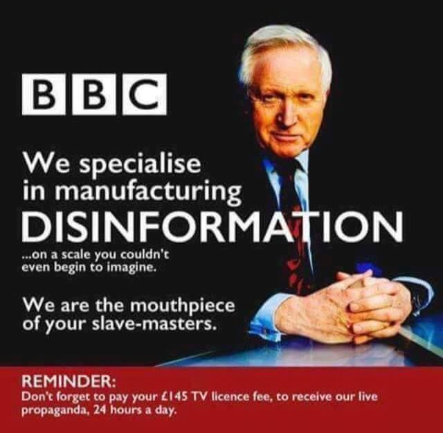 The BBC | Propaganda, Bbc, Told you so