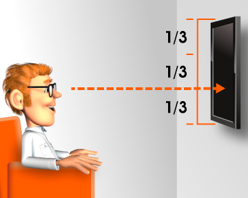 What Is The Best Height To Mount My Tv Wall Mounted Tv Tv Wall