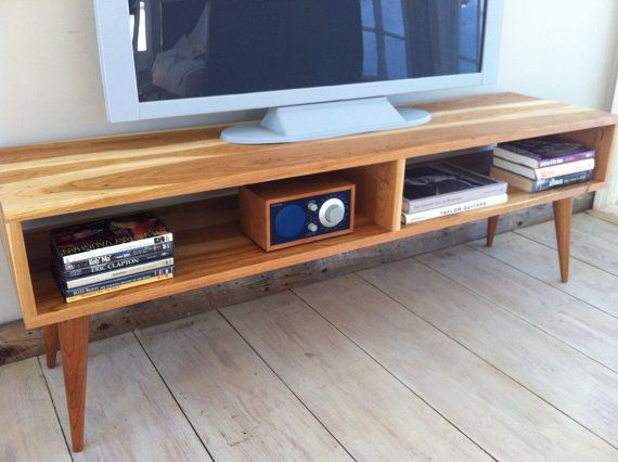 factory authentic c3f14 d7354 Mid century modern TV table/entertainment console featuring ...