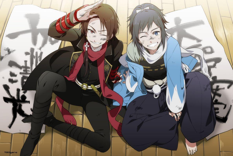 touken ranbu (con imágenes) Arte de anime, Anime, Arte