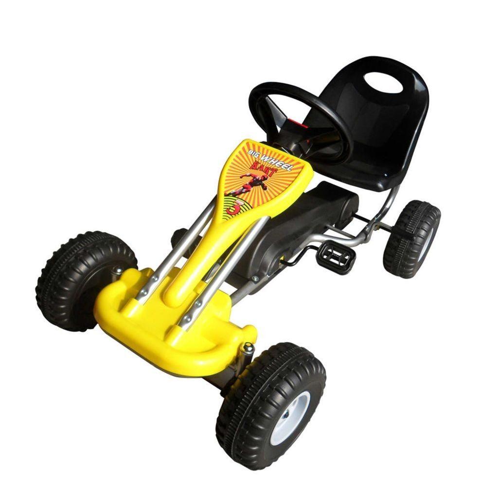 kart kjøring Pedal go kart gul , Denne gule pedal go karten er egfor små  kart kjøring