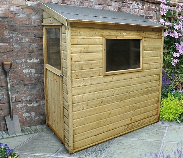 the premium 3 foot wide by 6 foot deep wall shed by forest garden is the - Garden Sheds 6 X 3