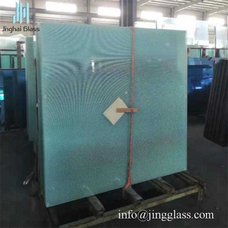 5mm Ceramic Printing Tempered Laminated Glass For Building Looking Glass Paint Glass Printing Laminated Glass
