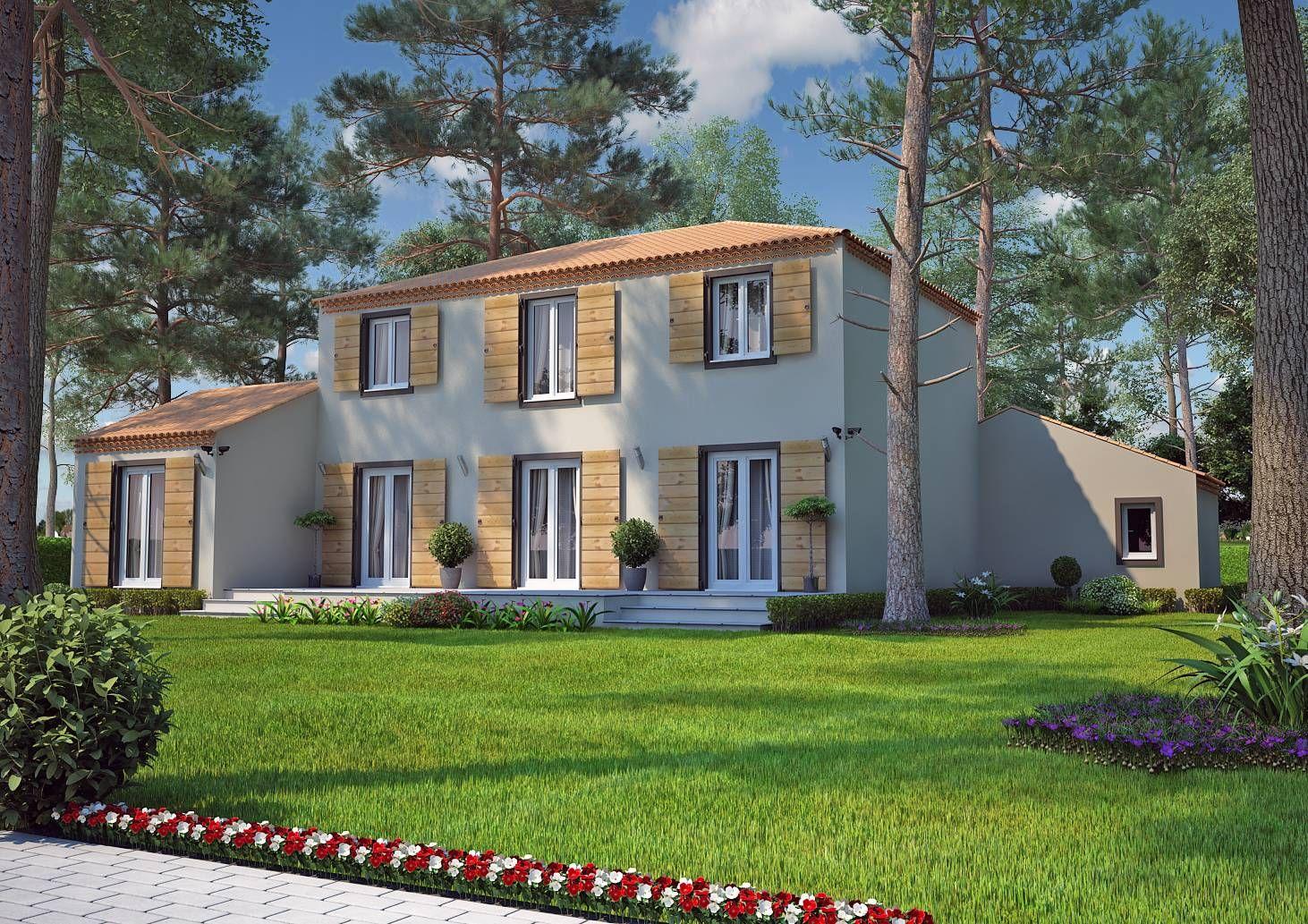 Villa traditionnelle par azur logement provencal gentiane notre petit nid la maison en 2019 - Maison de 130m2 ...