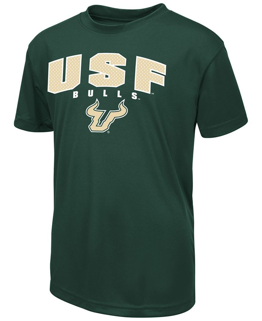 Colosseum Kids' South Florida Bulls Mesh Poly T-Shirt