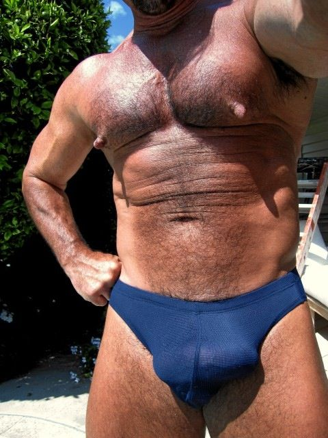 My extraordinary hairy arsenal 01 in undies