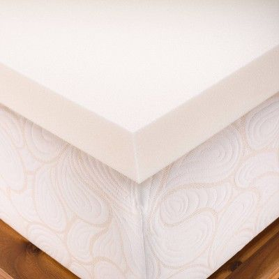 White Made By Design Twin XL Comfort Mattress Pad NEW IN PACKAGE