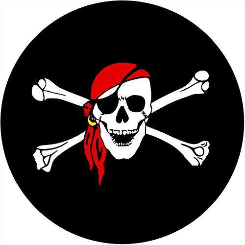 Skull Cross Bones Tire Cover For Jeep Rv Camper Vw Trai Pirate Skull Skull Sticker Skull And Crossbones