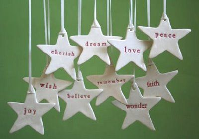 handmade christmas decorations andies world - Ceramic Christmas Decorations