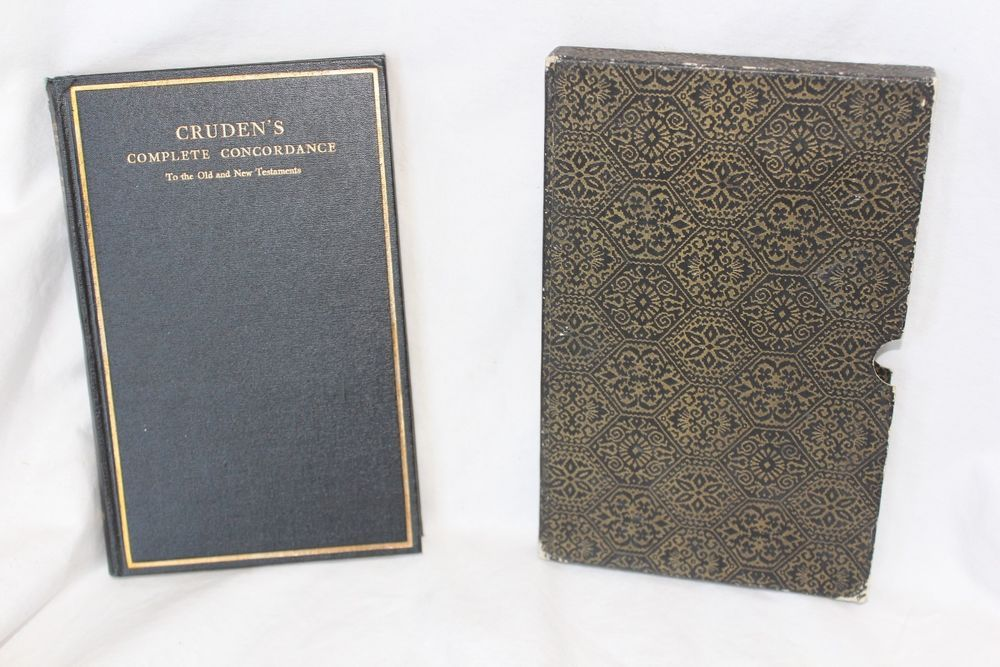 Cruden's Complete Concordance to the Old and New Testement 1967 Hardback Covered