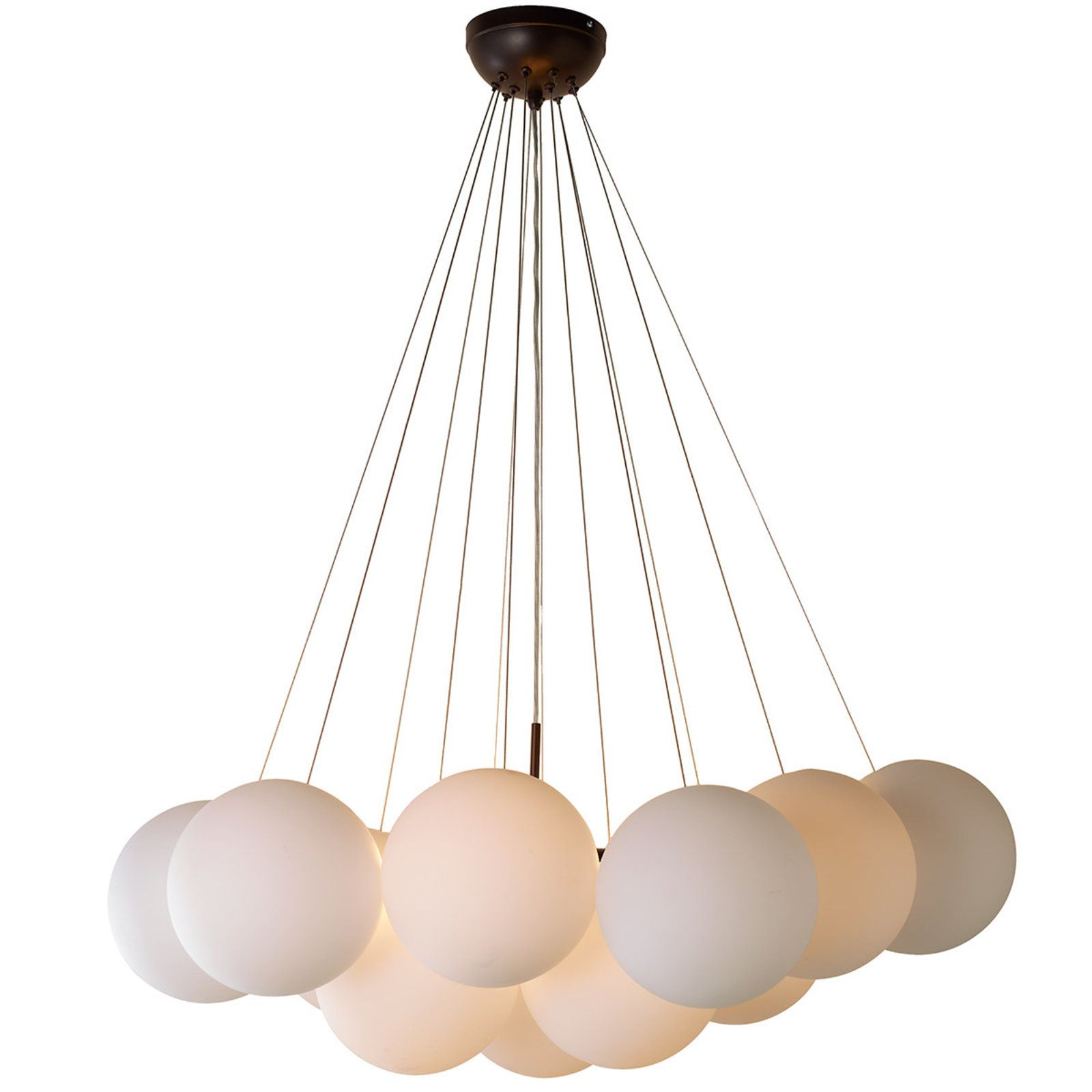 Effervescent Globes Chandelier 16 Light Globe Chandelier