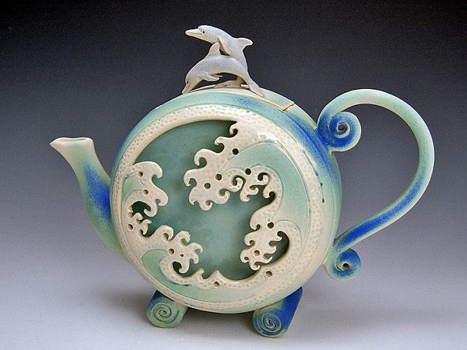 Dolphin Wave Box Teapot In 2018 Its Always Time For Tea