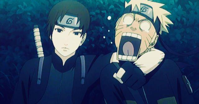 Friendship, Sai and Naruto, Naruto Shippuden. lols, poor Naruto