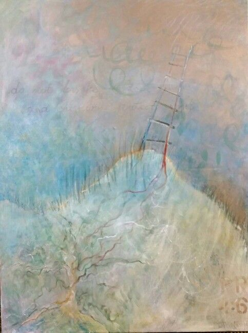 "Wisdom ""Jacob's Ladder"" by Dorota Matys Art & Design"